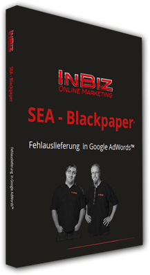 Blackpaper - Fehlauslieferungen in AdWords - Cover - 3D