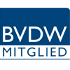 InBiz ist registriertes Mitglied im BVDW e.V.